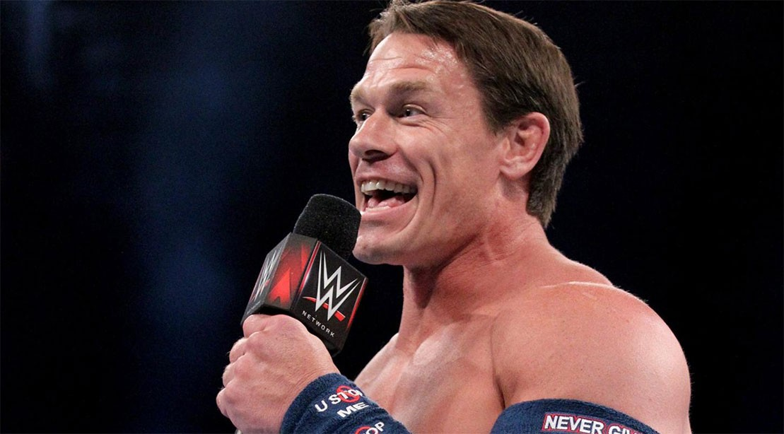 John Cena's new haircut