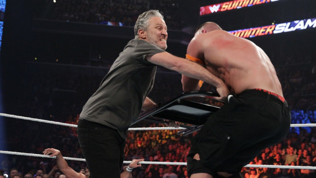 Seth Rollins defeats John Cena at WWE Summerslam