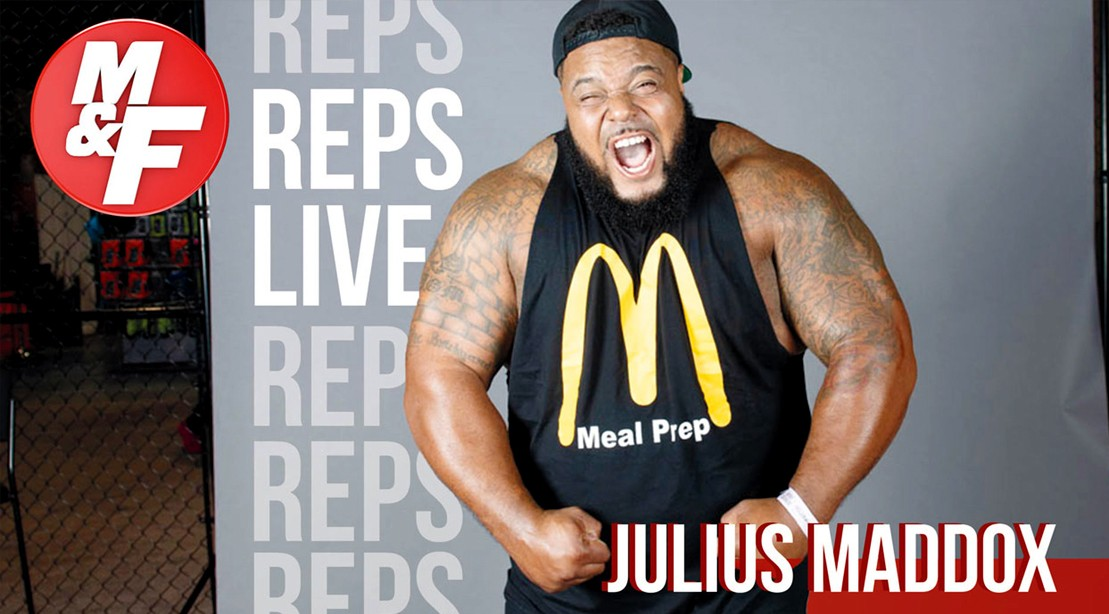 Julius-Maddox-Youtube-Reps-Live