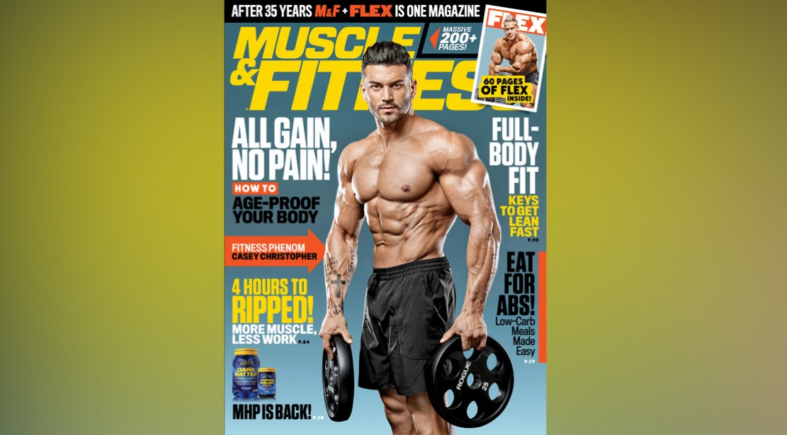 Get the July 2018 Issue of 'Muscle & Fitness'