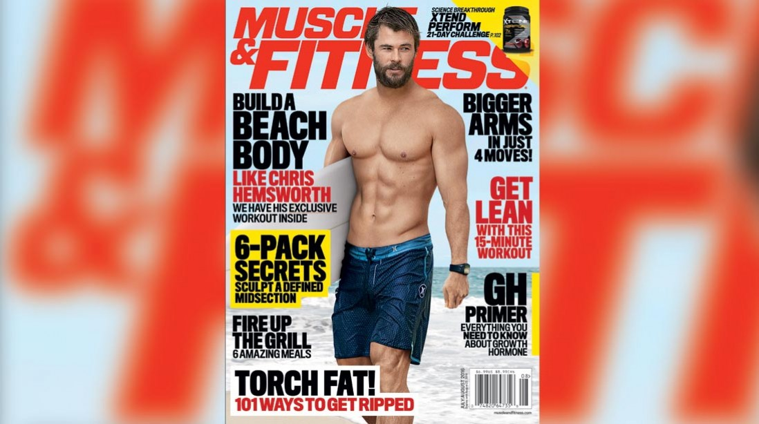 Get the July/August Issue of 'Muscle & Fitness' on Newsstands Now