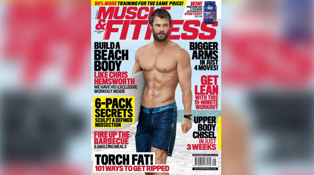 Get the September Issue of 'Muscle & Fitness' Now!
