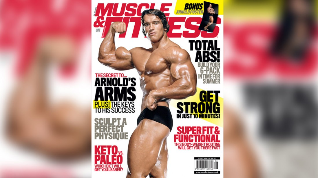 Get the June Issue of 'Muscle & Fitness' Now!