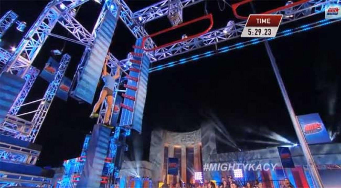 Kacy-Catanzaro American Ninja Warrior