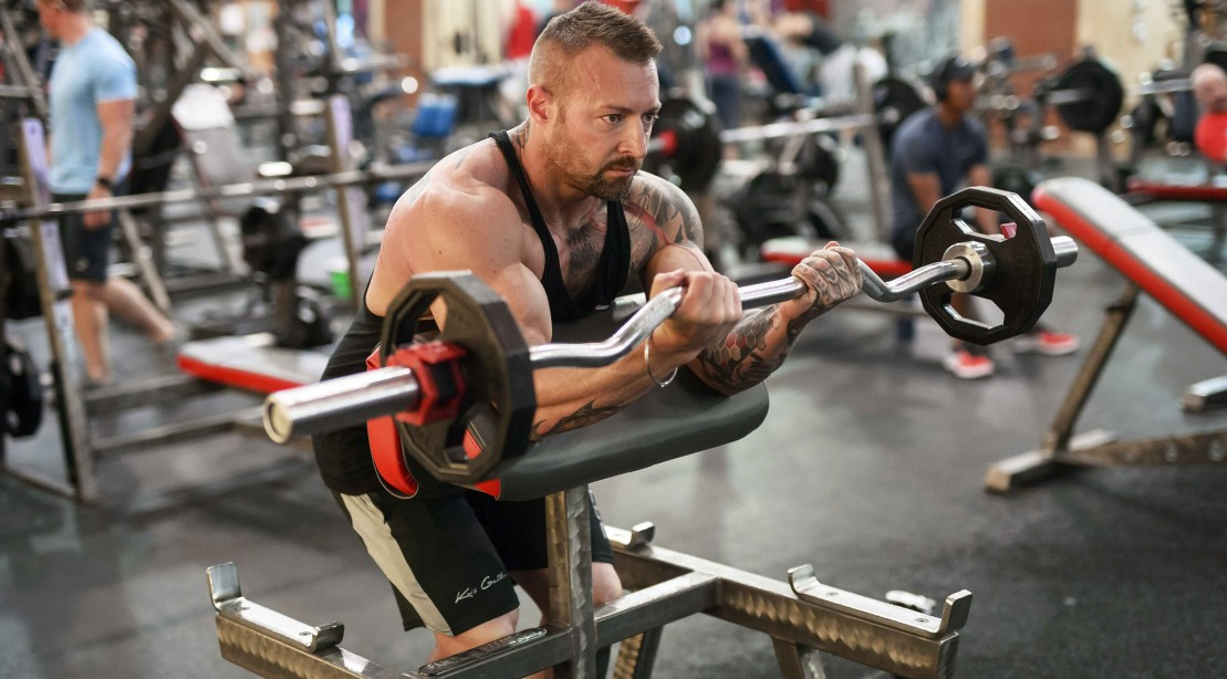 "Kaged Muscle's 6-Week Biceps Program: Training ""title ="" Kaged Muscle's 6-Week Biceps Program: Workout ""/>    <div class="