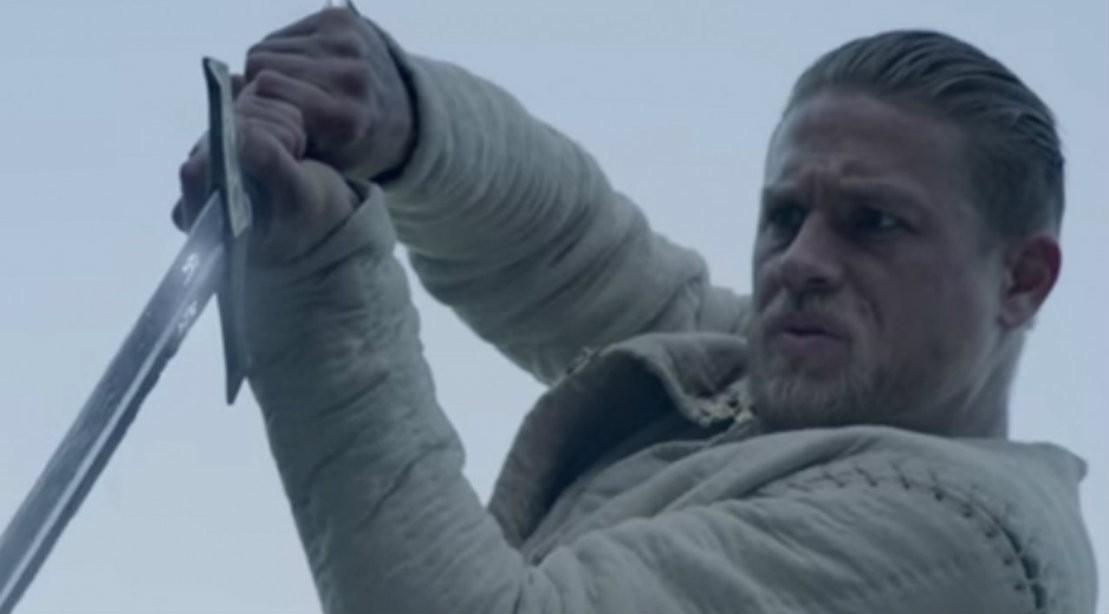 King Arthur Pulls Sword From Stone