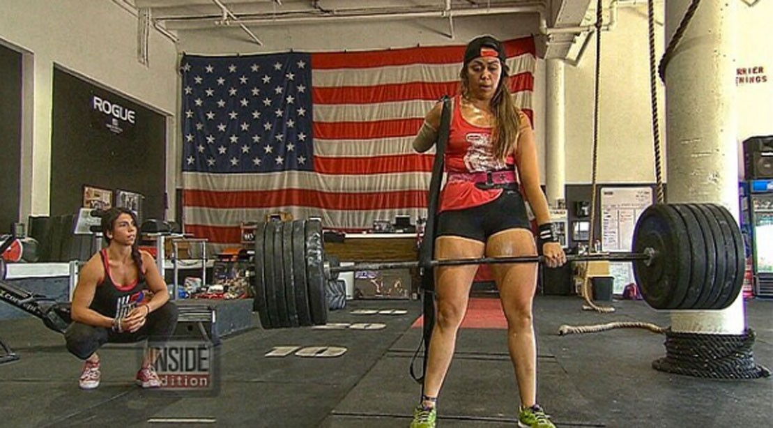 One-Armed Weightlifter Just Gets Stronger