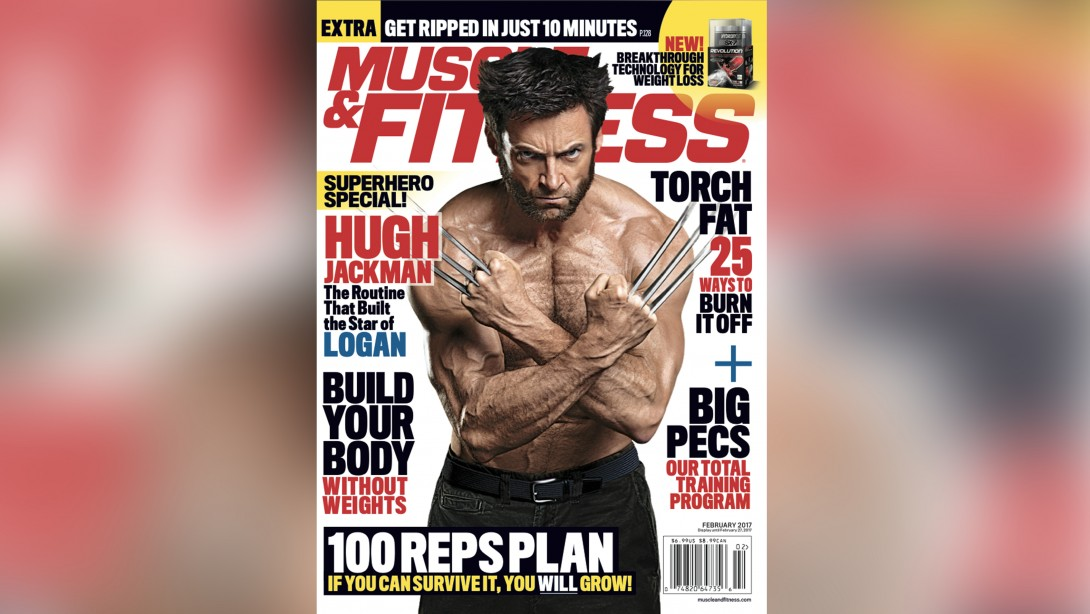 Get the February Issue of 'Muscle & Fitness' on Newsstands Now