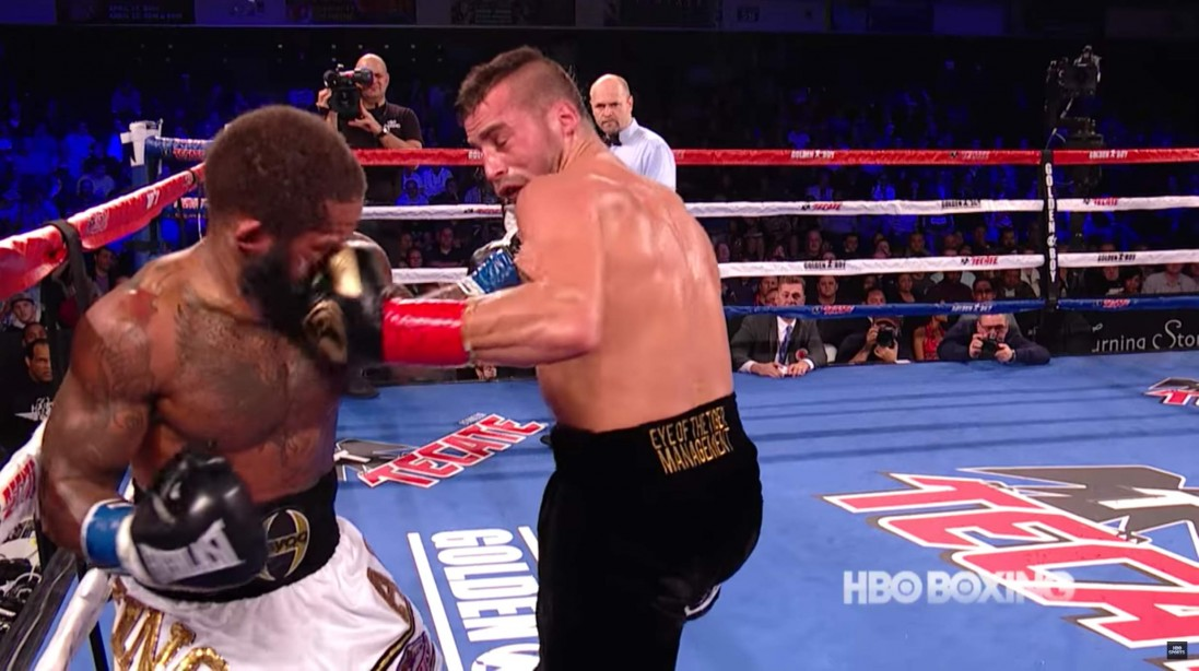 David Lemieux One Punch Knockout of Curtis Stevens