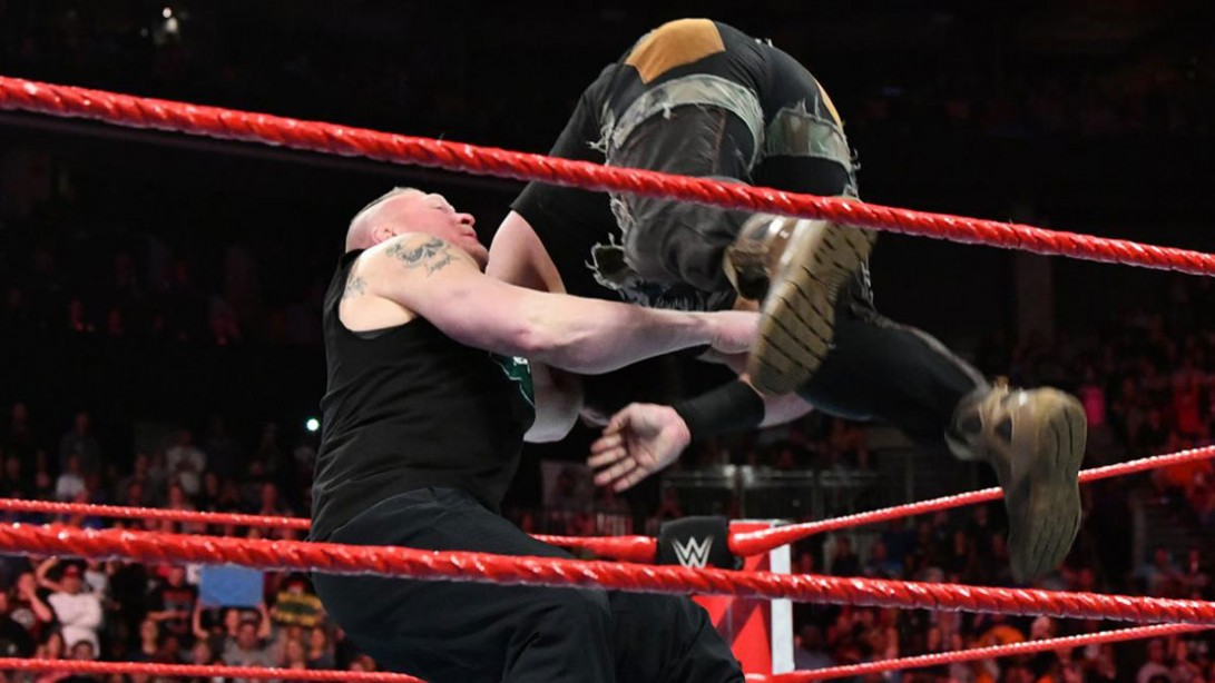 'Raw' Recap: Brock Lesnar F-5's Braun Strowman on the Eve of 'Crown Jewel'