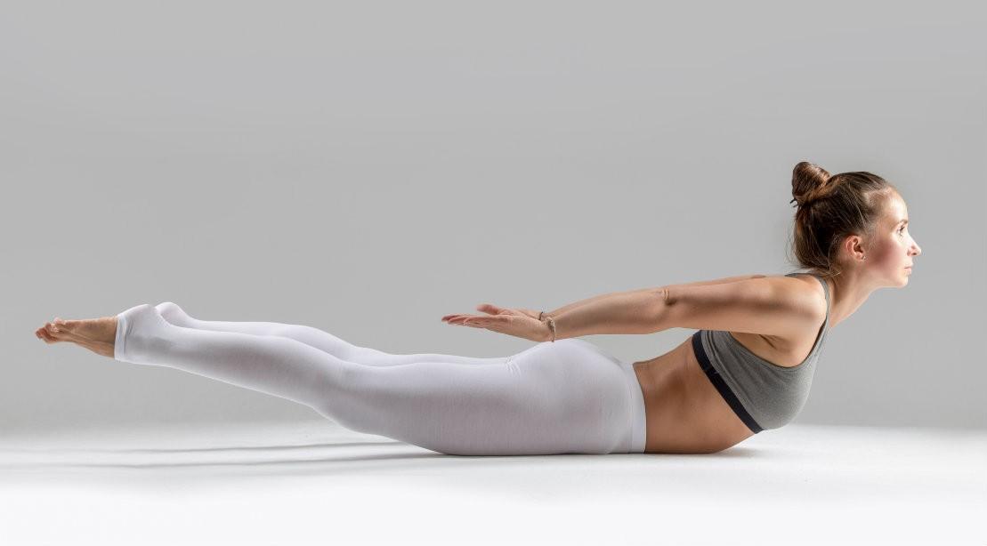 Locust Pose Yoga 1109 0