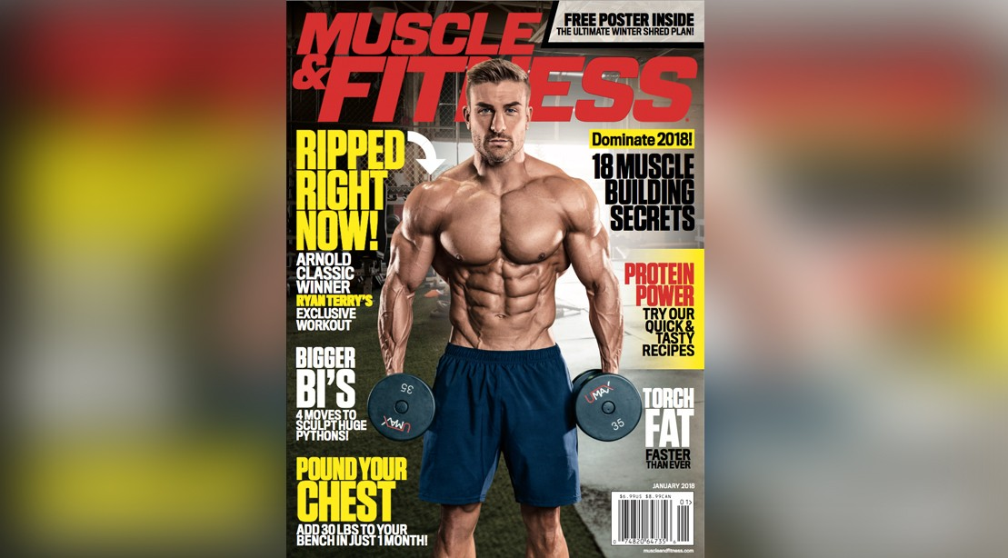 Muscle & Fitness cover for January 2018