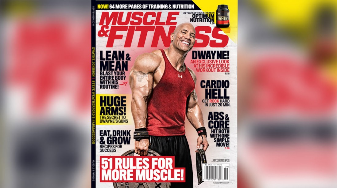Get the September Issue of 'Muscle & Fitness' on Newsstands Now
