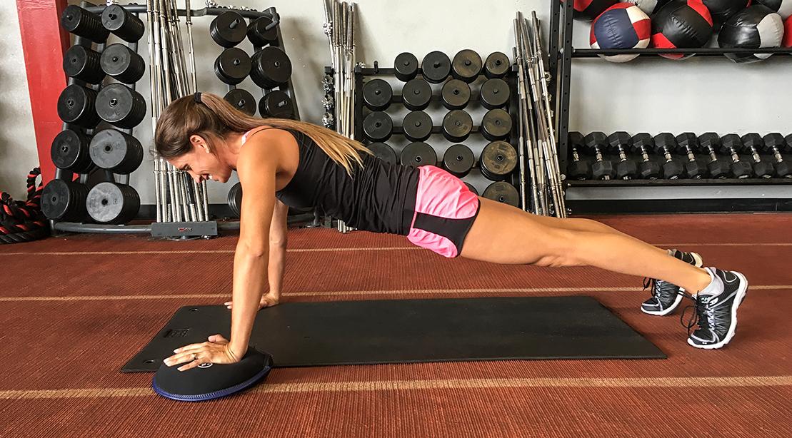 Time-Saver Workout: Sandbell Slammers