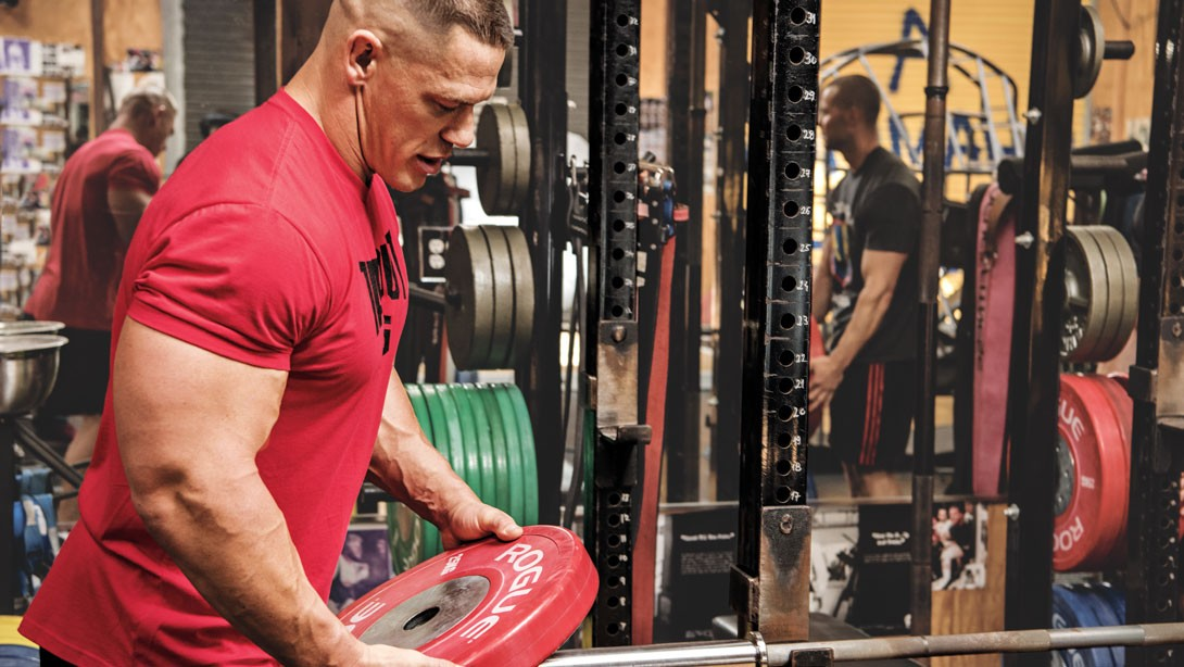 John Cena S 8 Rules Of The Gym Muscle Amp Fitness