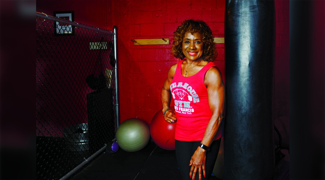 73-Year-Old Grandma Gets Super Fit