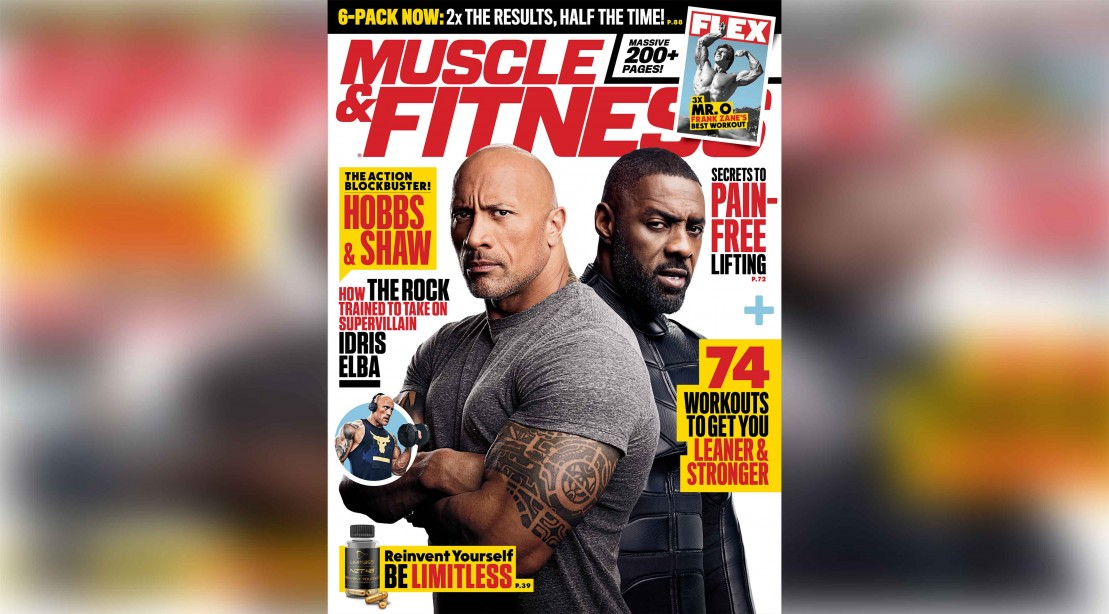 Get the August 2019 Issue of 'Muscle & Fitness'