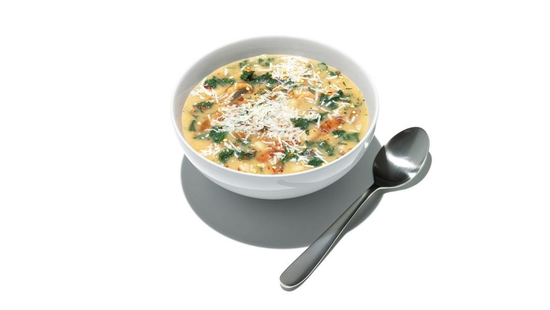Warm Up: Kale-Bean Soup