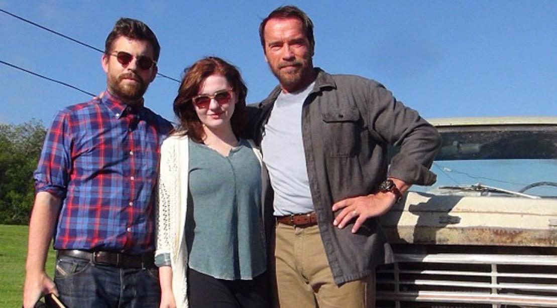 Henry Hudson, Abigail Breslin and Arnold Schwarzenegger.