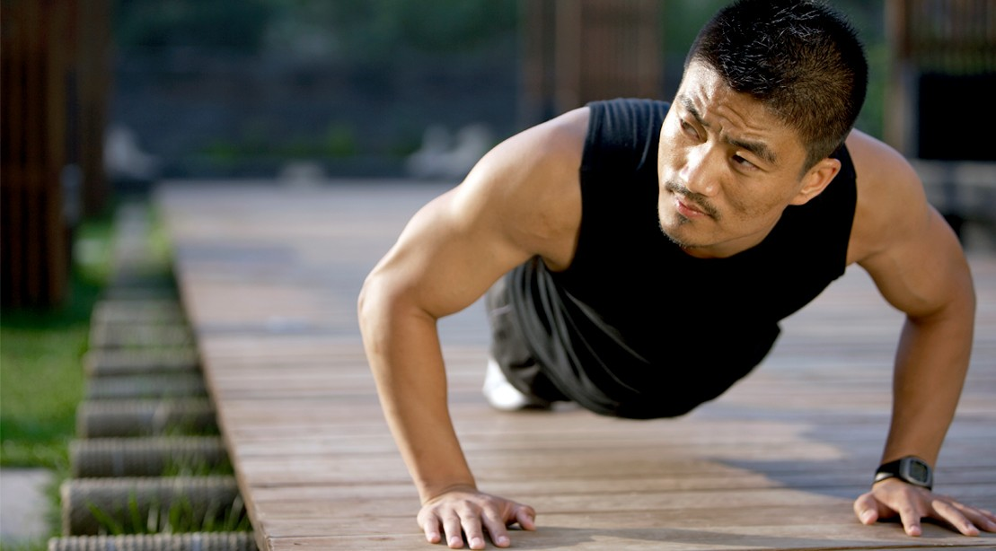 Man-Looking-Away-Pushup