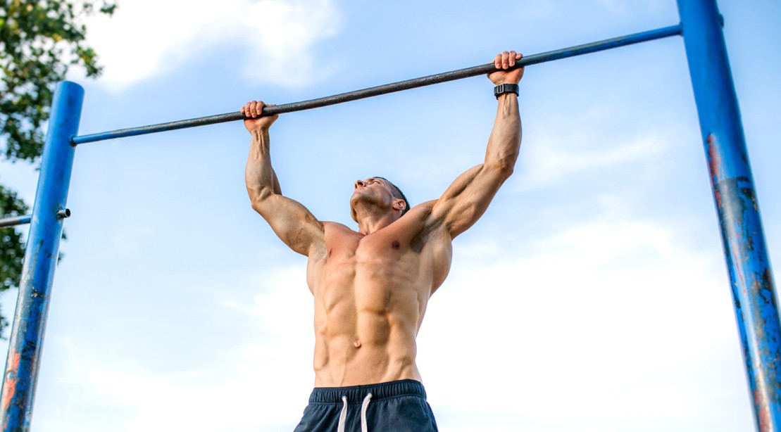 The Pullup-Pushup Workout Routine That Can Be Done Anywhere