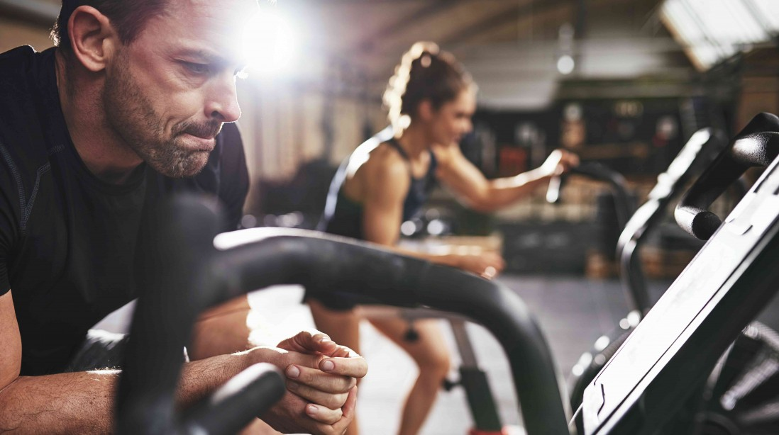 Seeing people work out really can inspire you to work out more often