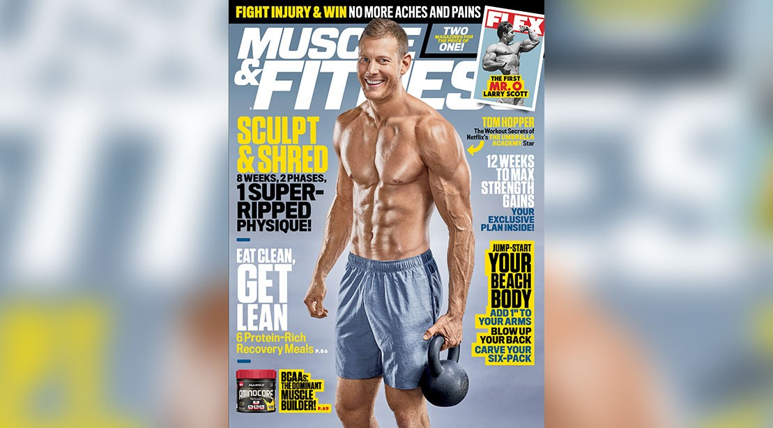 The March issue of 'Muscle & Fitness.'