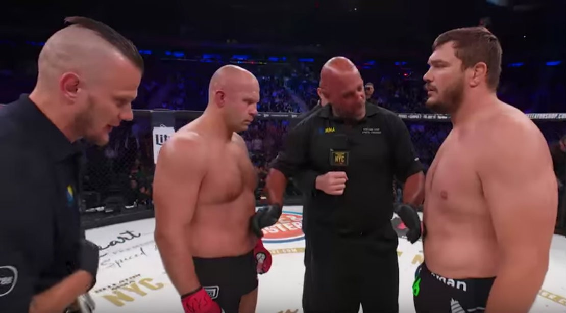 Matt Mitrione and Fedor Emelianenko