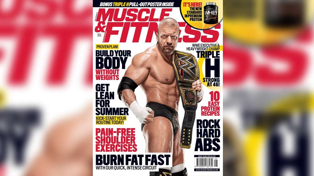 Get the May Issue of 'Muscle & Fitness' Now!