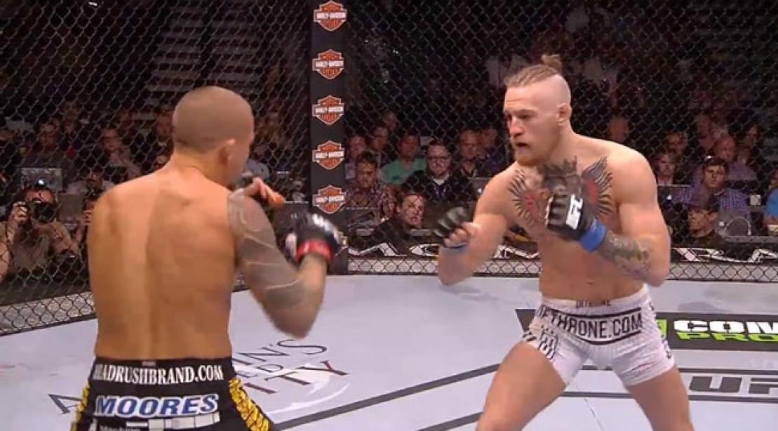 Conor McGregor Vs. Dustin Poirier fighting at UFC 178