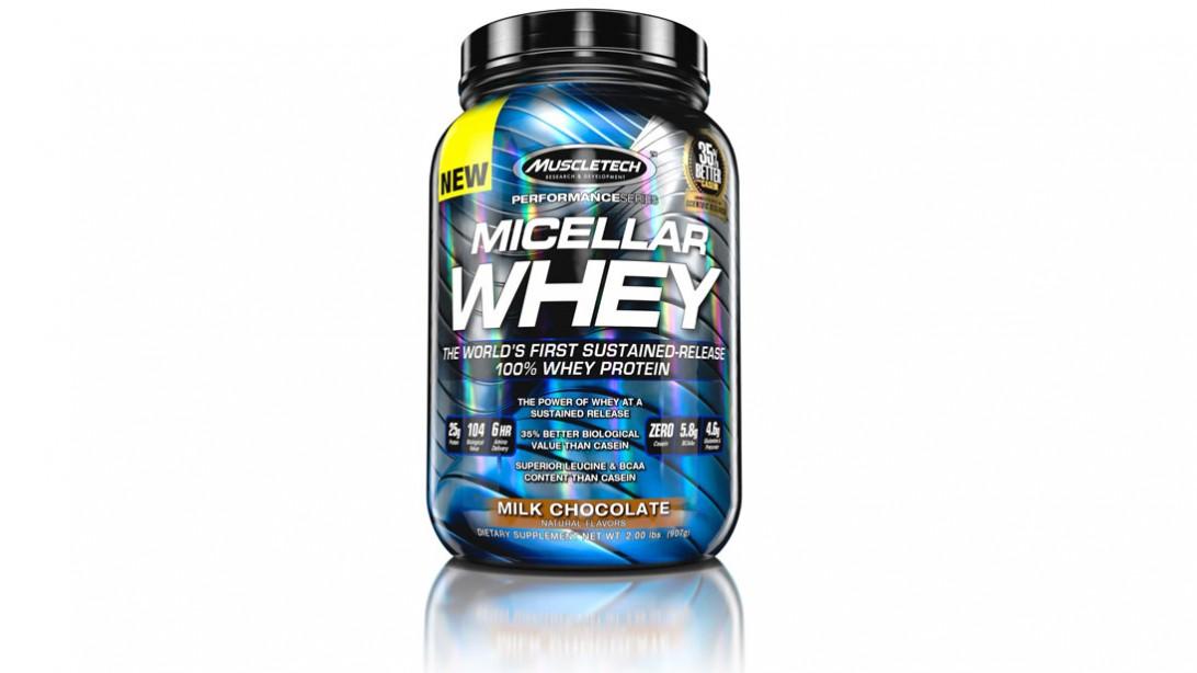 Protein's Biggest Breakthrough--Micellar Whey