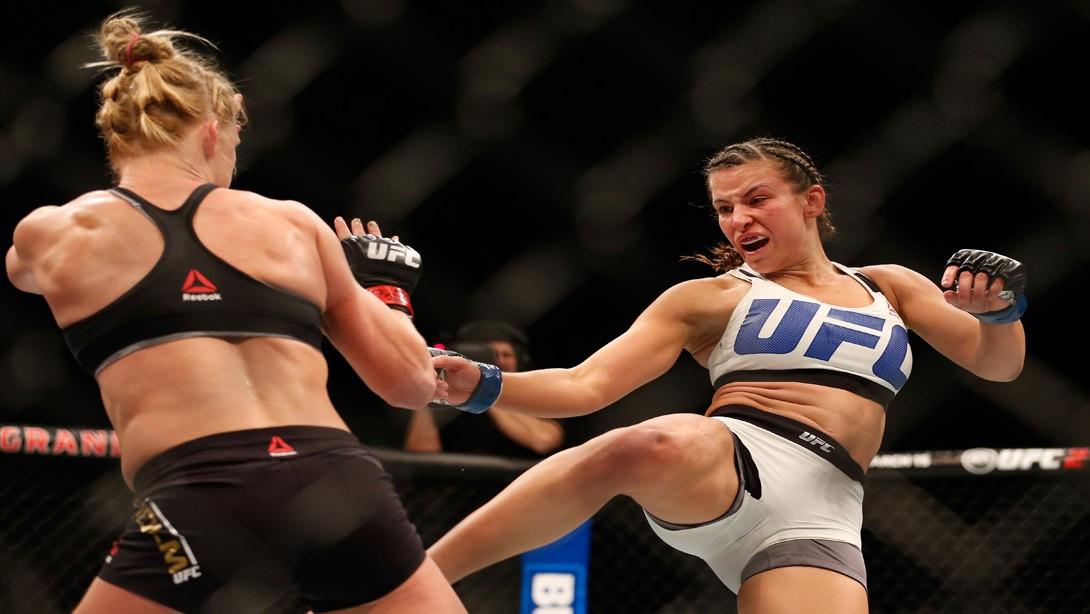New UFC Bantamweight Champion Miesha Tate Talks Choke Holds, Rousey, and What's Next