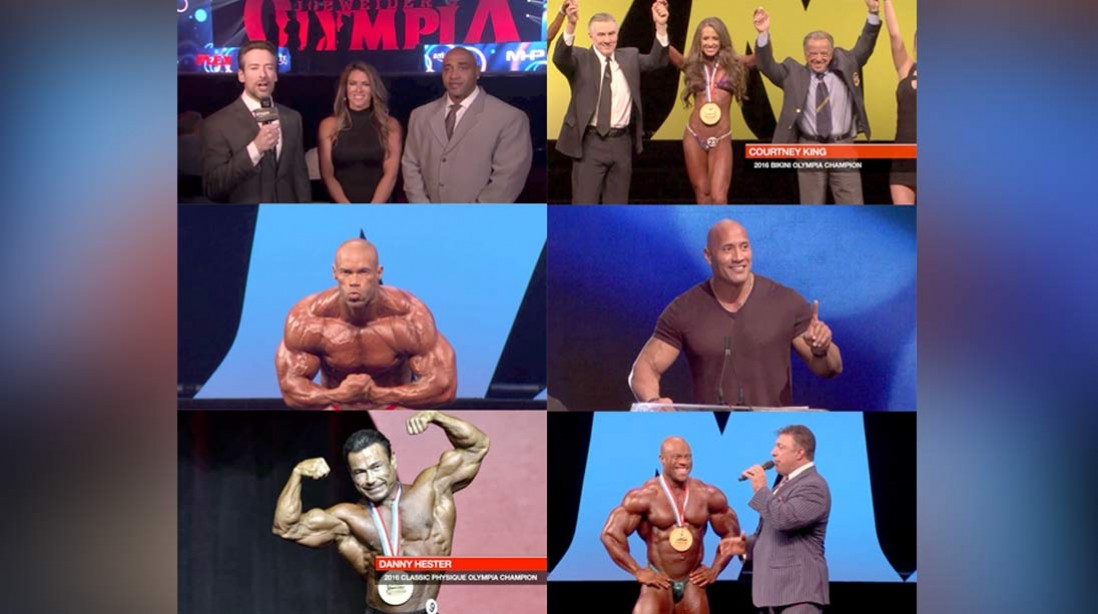 The 2016 Olympia is on Amazon Prime