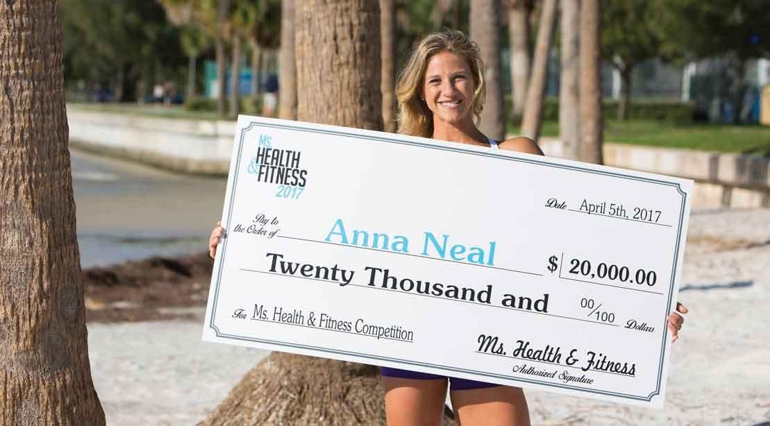 Anna Neal-Ms. Health & Fitness 2017 Winner