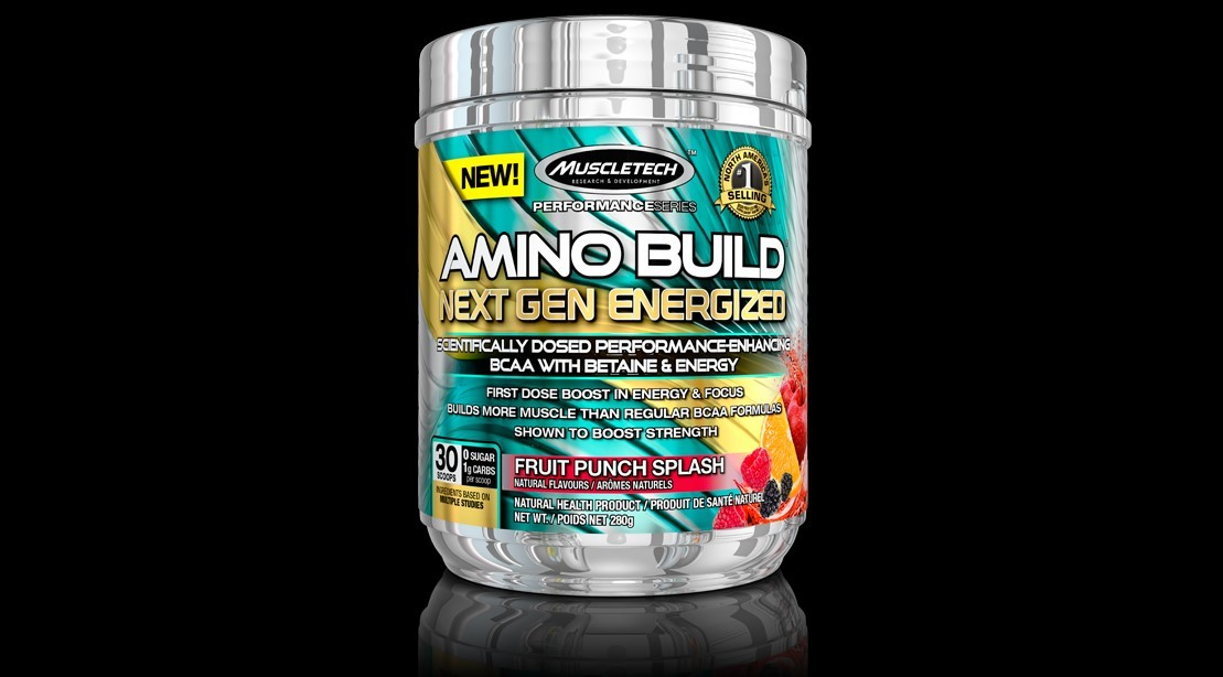 MuscleTech's Amino Build Gets Extra Kick