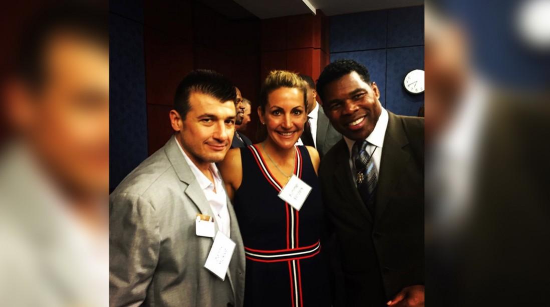 Danny Musico, Summer Sanders & Herschel Walker Keeping Our Youth Healthy & Fit