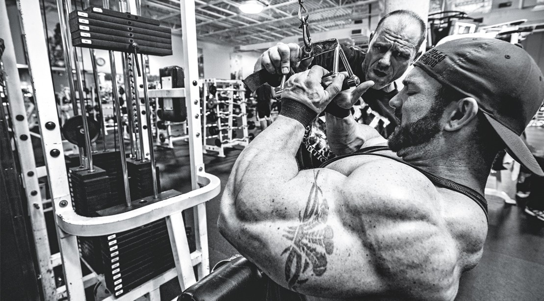Neil-Hill-Training-Flex-Lewis-Cable-Pulldown