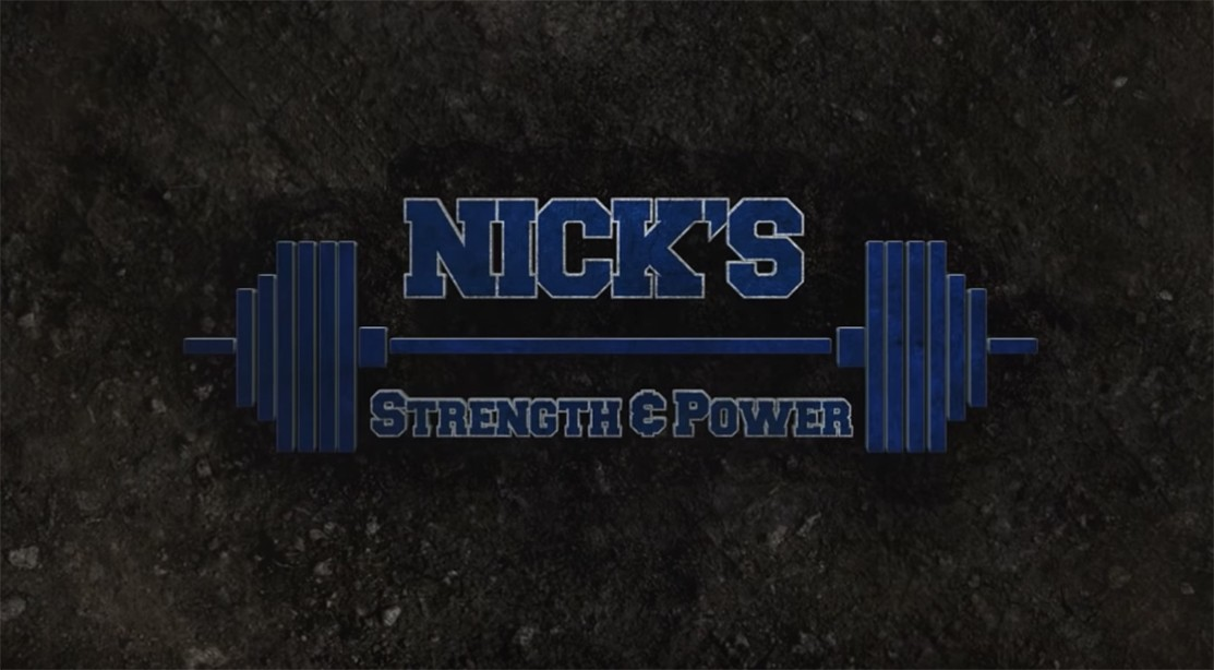 Nick's Strength and Power logo