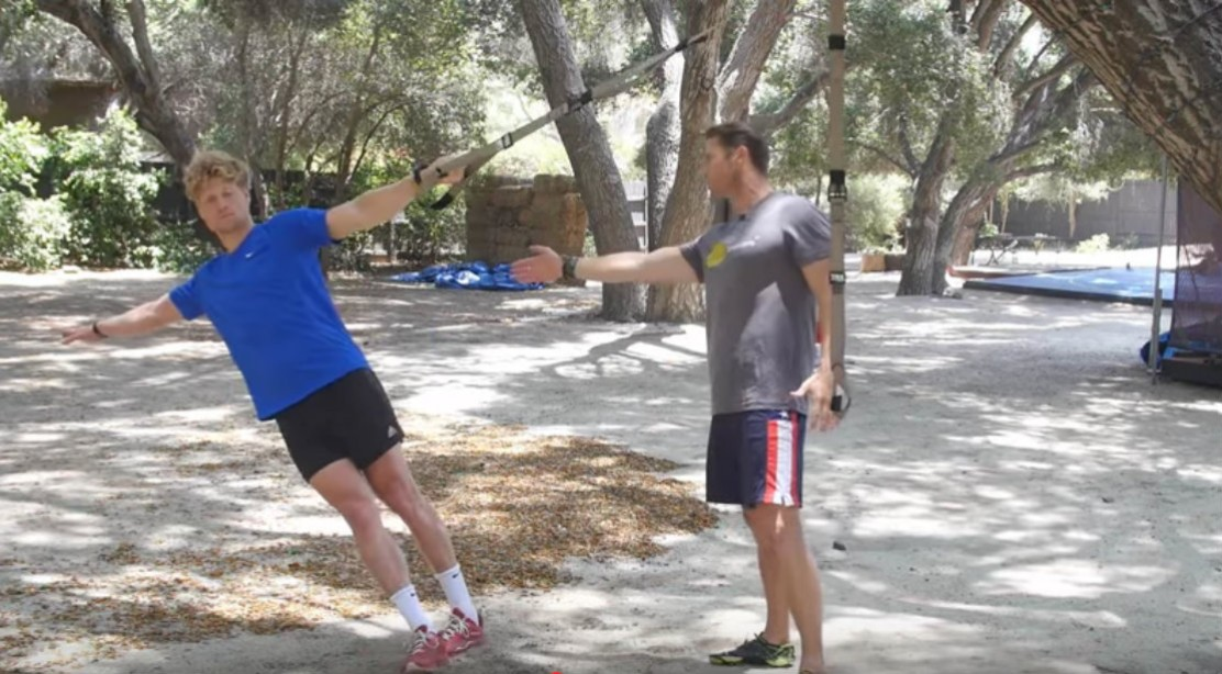 The TRX Obstacle Course Workout