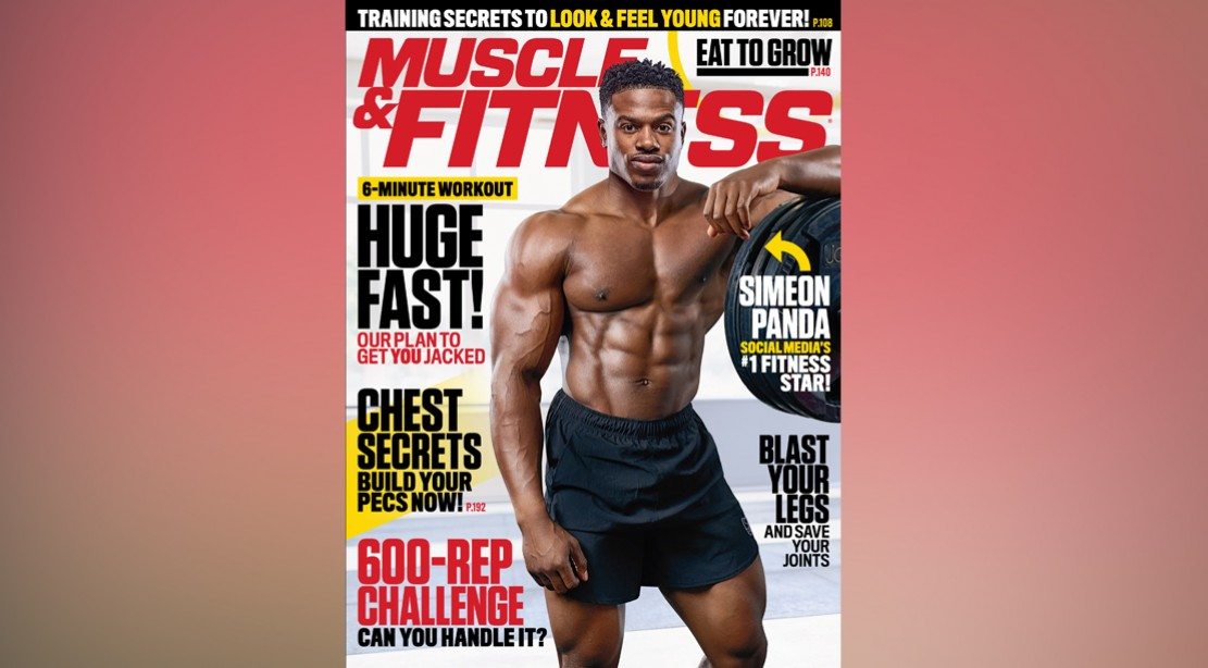 Get the October 2017 Issue of 'Muscle & Fitness' on Newsstands Now