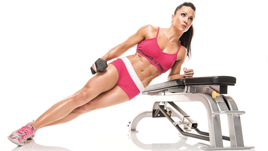 Oksana Grishinia's Flat Abs Workout Plan