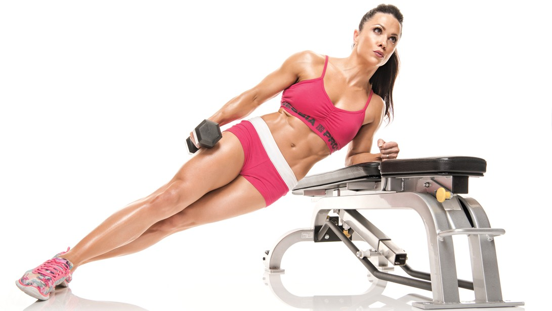 Oksana Grishinia's Flat Abs Workout Plan