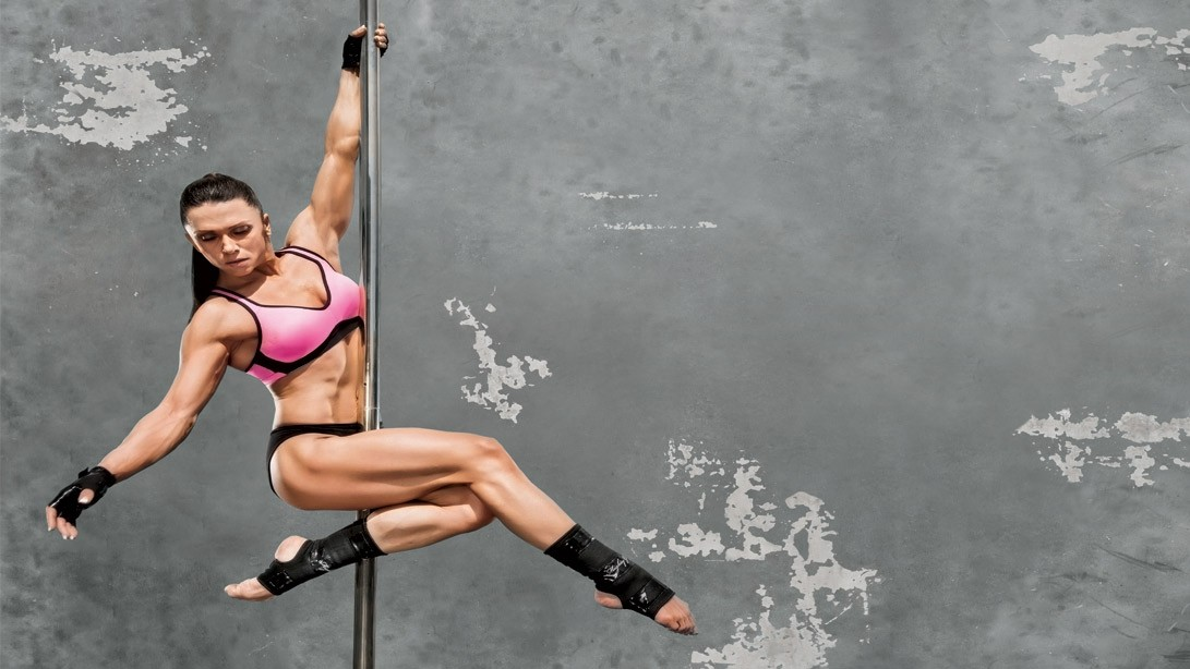 Watch Oksana Grishina's Olympia Prep Workouts