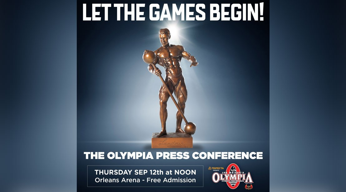 Olympia Weekend Kicks Off with Thursday Press Conference