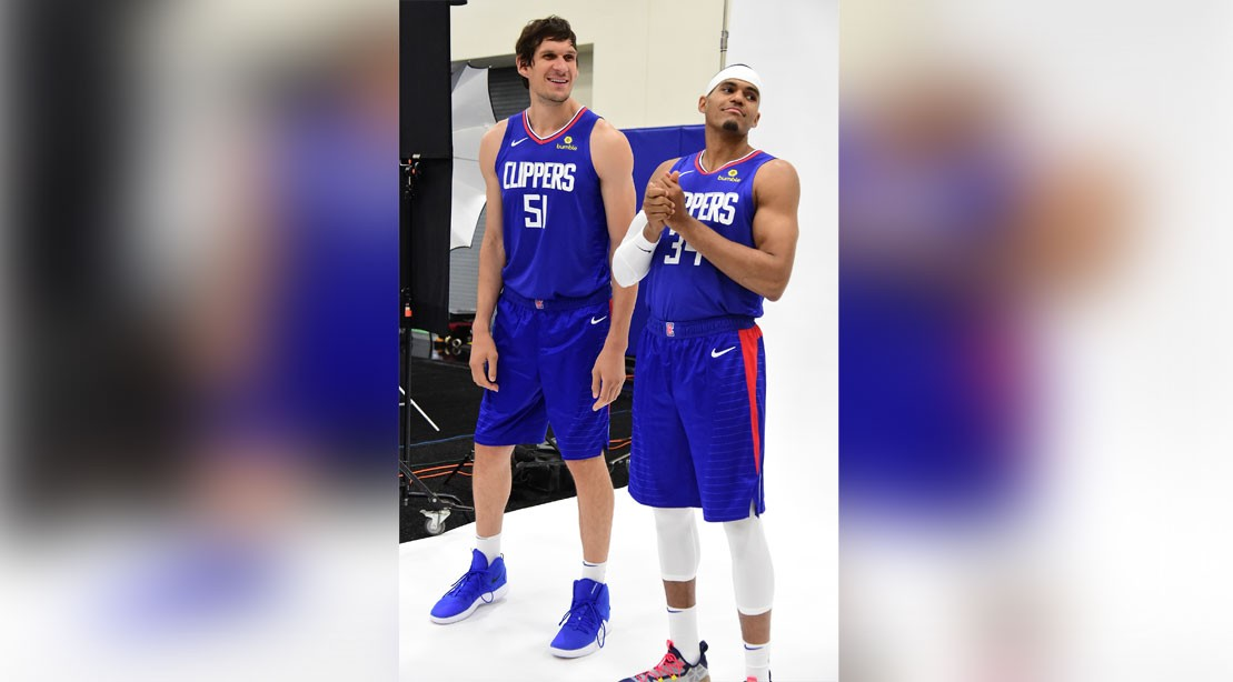 LA Clipper Stars Boban Marjanovic and Tobias Harris on Deadlifts, Pre-Game Meals and John Wick: Chapter 3