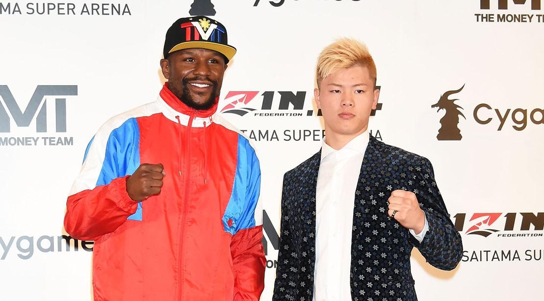 Mayweather set to fight undefeated kickboxing star Tenshin Nasukawa New Years Eve