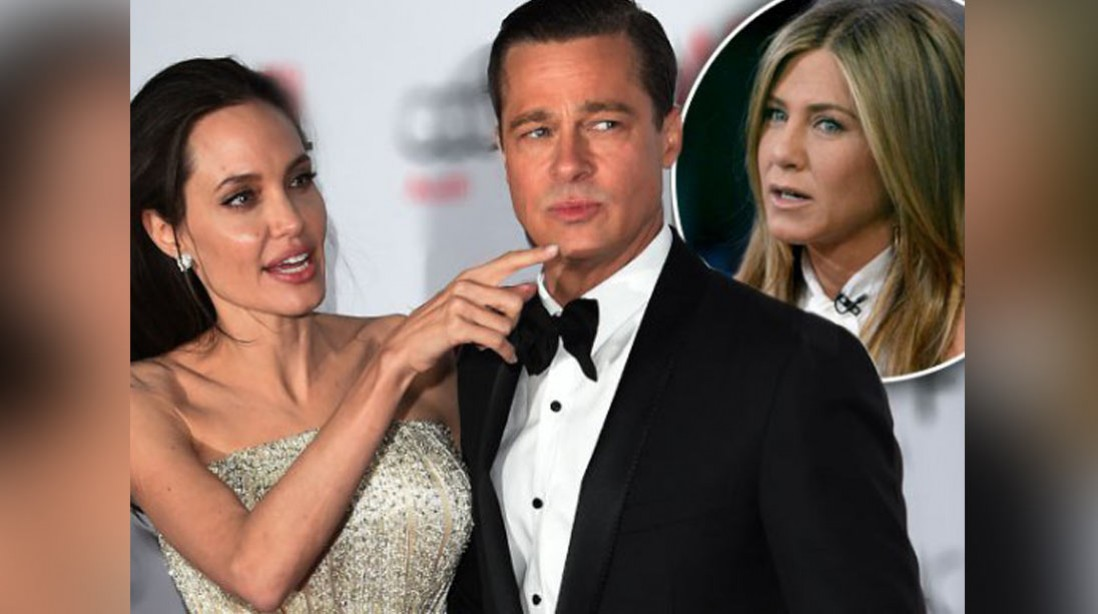 No Justice! 'Vicious' Angelina Jolie Drags Jen Aniston To Divorce Court