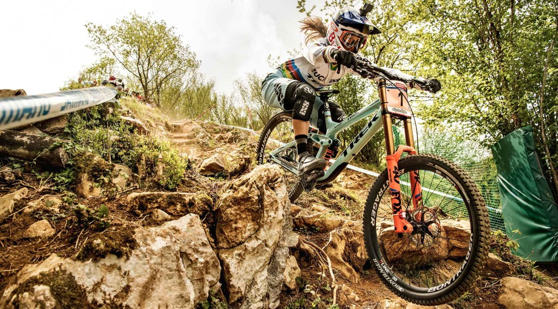 Rachel Atherton Is Best Downhill Mountain Biking Champ of All Time - Almost