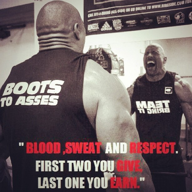 Time For Some Motivation From The Rock Muscle Fitness