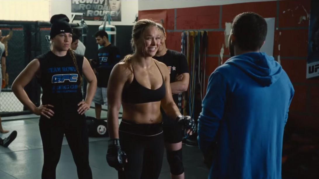 Ronda Rousey Entourage Trailer